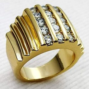 Other - 18k Gold Filled Men's Ring  size 11